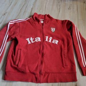 Machine XXL 2xl mens red Italia jacket coat zip sw
